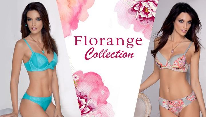 Коллекция нижнего белья Флоранж